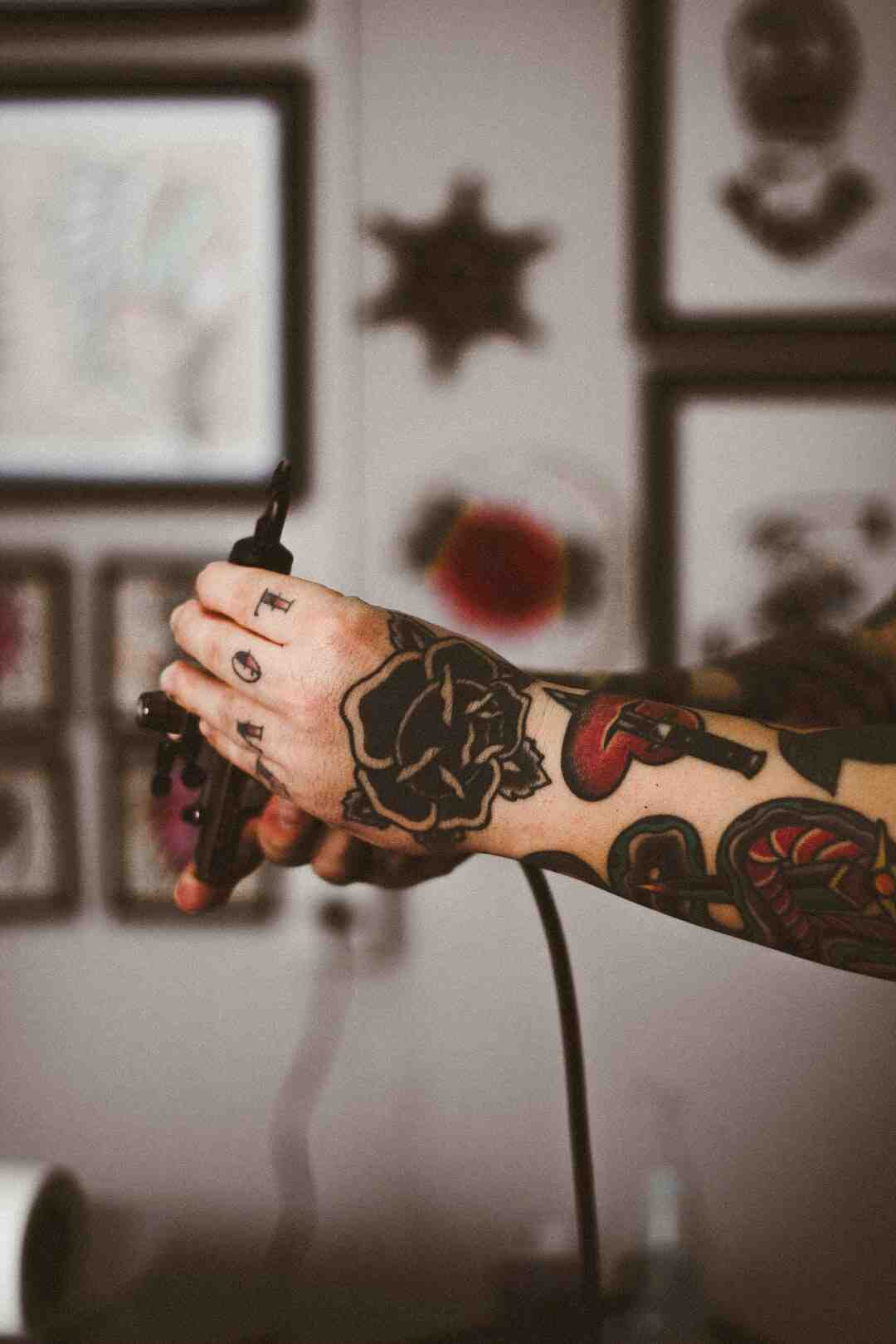 Can you use Sharpie ink for stick and poke?