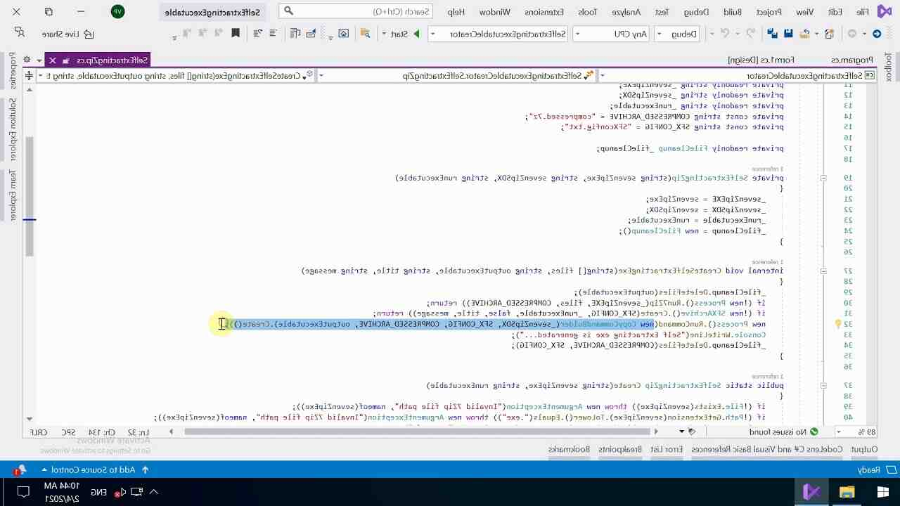 How do I use Autodesk self-extract?
