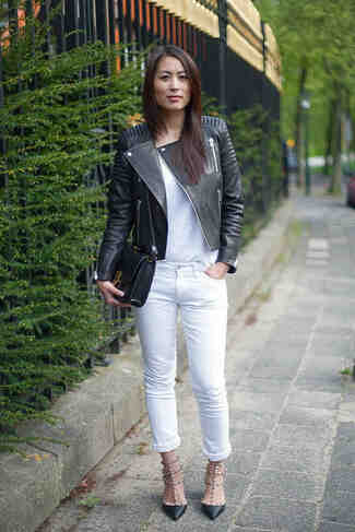 Is a white leather jacket a good idea?
