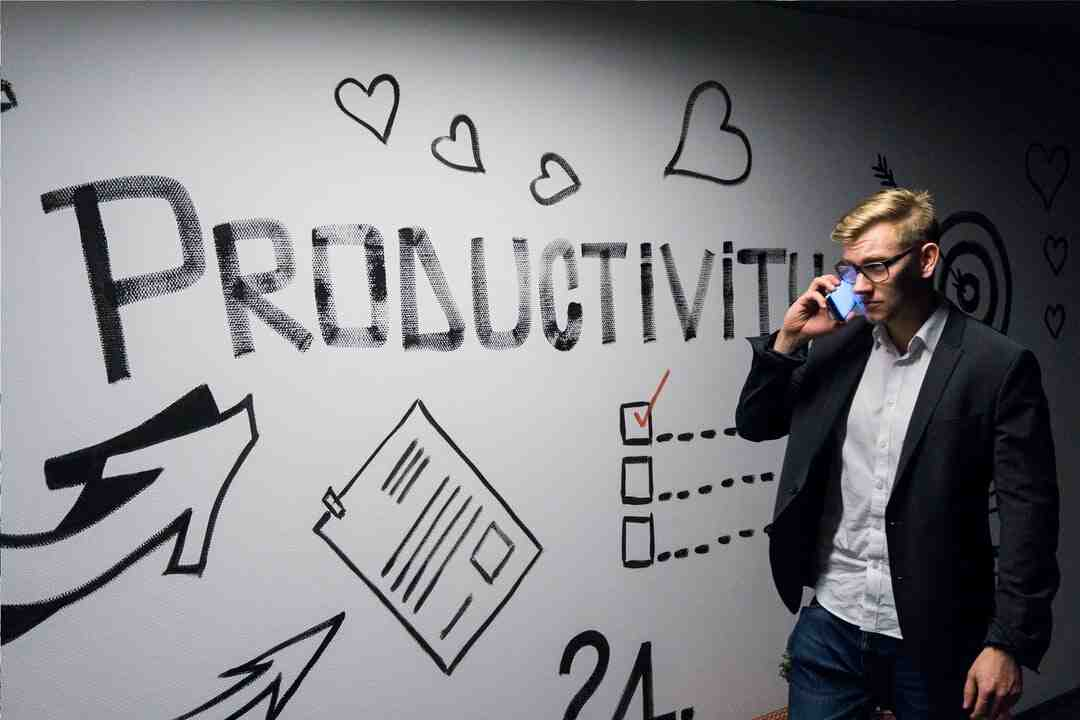 What causes lack of productivity?