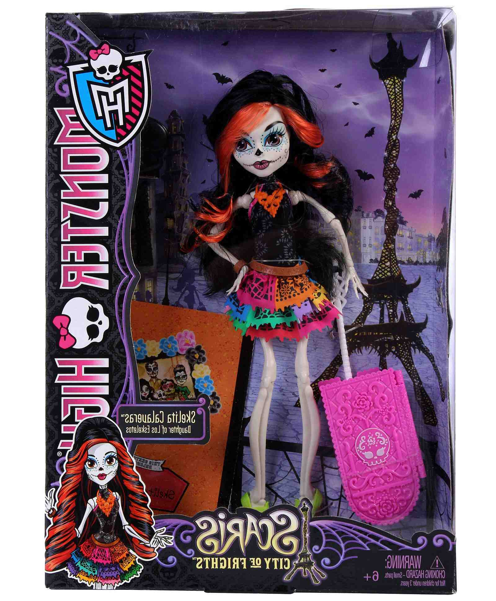 What is Monster High doll hair made of?