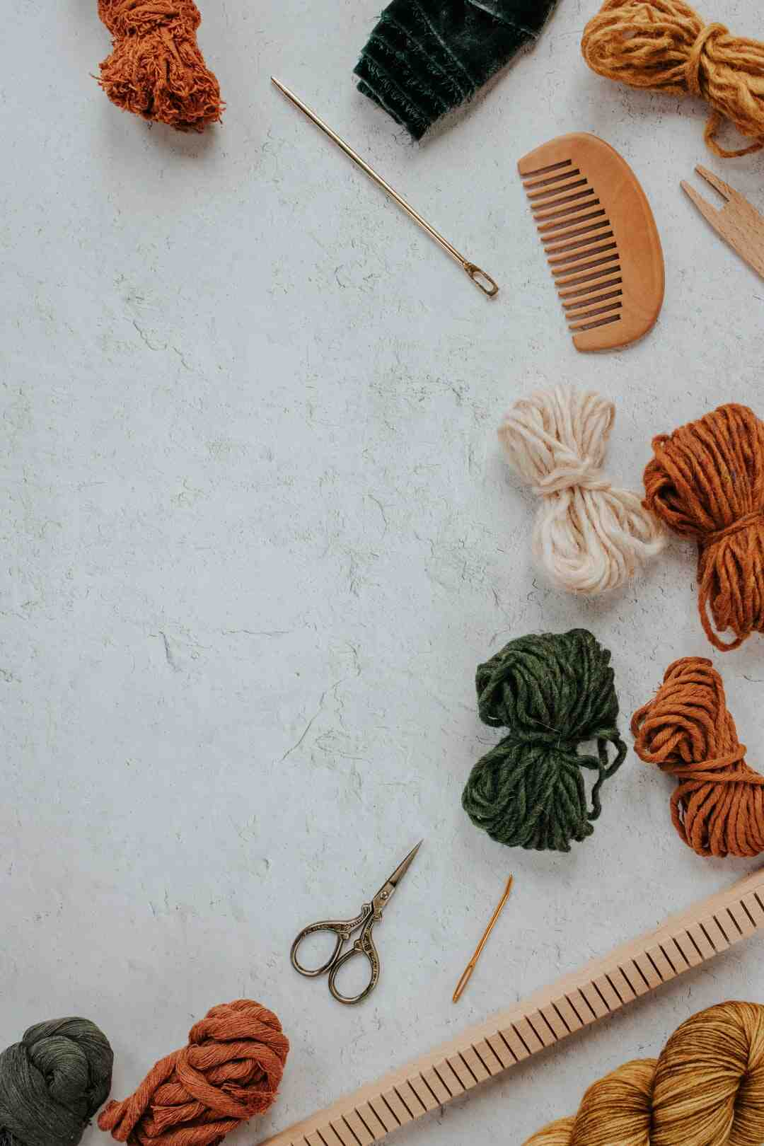 Why do crochet rugs curl?